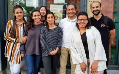 Rencontre des jeunes d'une maison de quartier du Peterbos