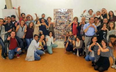 Rencontre de jeunes de l'association Jong Sport & Bla Bla de Schaerbeek à l'occasion du Shabadan