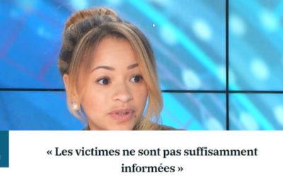 Les victimes ne sont pas suffisamment informées