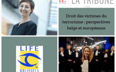 La Tribune Européenne – Droit des victimes du terrorisme : perspectives belge et européenne